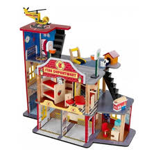 Игровой набор <b>KIDKRAFT</b> 63214_KE <b>Пожарно</b>-<b>спасательная</b> ...