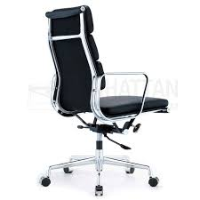 eames soft pad executive office chair replica style 4 bedroomsweet eames office chair replicas style