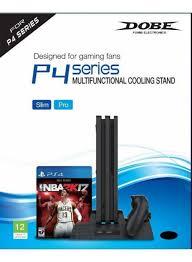 <b>Вертикальная подставка</b> Multi-Functional Cooling Stand для (PS4 ...