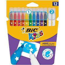 <b>Фломастеры BIC</b> Kids <b>Magic</b>, 12 цв, картонная упаковка, 9202962