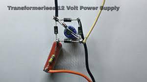 Transformerless Power Supply (<b>220V AC</b> to 12V DC ) - YouTube