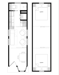 Sample Floor Plans for the x Coastal Cottage   Tiny House Design