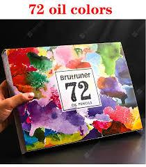<b>48/72/120/160</b>/<b>180Color Professional Oil</b> Color Pencils Wood Soft ...