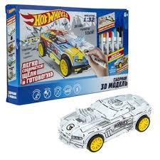 <b>Hot Wheels сборная модель</b> 5 в 1 (пласт., в компл. 5 автомобилей ...