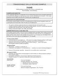 method example resumes skills shopgrat example resume sample resume example skills section top 10 word