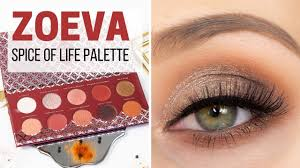 <b>ZOEVA Spice of Life</b> Palette Make Up Look - YouTube