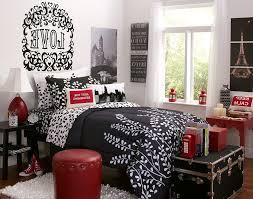 Paris Bedroom Decor Red And Black Paris Bedroom Khabarsnet
