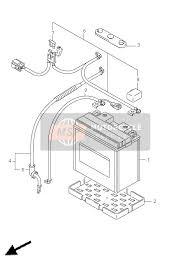 <b>Suzuki LT</b>-A500XP(Z) KINGQUAD AXi 4X4 2011 Spare Parts - MSP