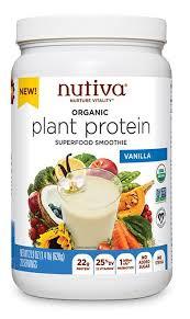 <b>Organic Plant Protein</b> Superfood Smoothie | Nutiva