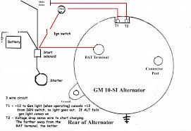 chevy alternator wiring diagram the h a m b images chevy chevy 2 wire alternator diagram diy wiring diagrams