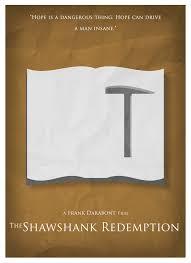 nonverbal art shawshank redemption the shawshank redemption the shawshank redemption mini st
