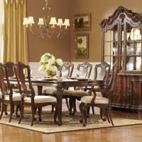 elegant square black mahogany dining table:  table formal and elegant dining room sets stylist formal dining room design with dark brown mahogany