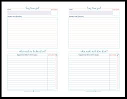 organize your goals by writing them down goal setting half size long term goal setting worksheet printables to help you set plan and