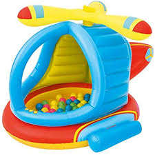 <b>Bouncy</b> Castles Aircraft Inflatable Castle Trampoline with 50 Ocean ...