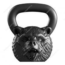 <b>Дизайнерская гиря</b> Медведь 16 кг - купить | лучшая цена в ...