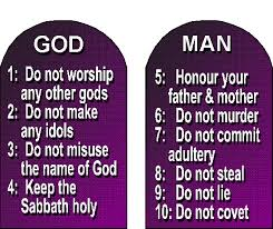 Image result for caricature of the ten commandments