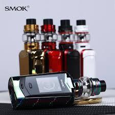 <b>Original SMOK Species</b> Full <b>Kit</b> Vape With 230W Box Mod 5ml TFV8 ...