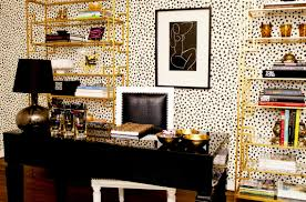 chic black and white home office chic home office decor