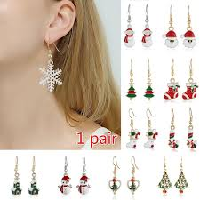 <b>Hot Accessories Fashion Jewelry</b> New Year's Gift Christmas Earring ...