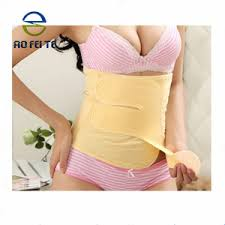cn herb breathable postpartum abdomen belly abdominal tie tied with a month to take the belly