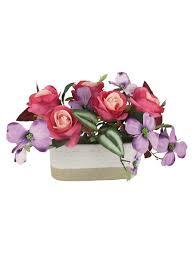 """<b>Декоративные цветы</b> """"<b>Розы</b> малиновые с сиреневыми <b>цветами</b> ..."""