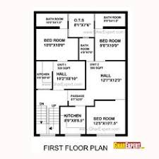 House plans  Yards and Squares on PinterestHouse Plan for Feet by Feet plot  Plot Size Square Yards