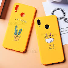 Purchased <b>Pattern Printing</b> Hard <b>Plastic Case</b> for Huawei P20 Lite ...