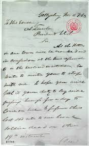 exhibition items gettysburg address exhibitions library of judge david wills to abraham lincoln 2 1863 page 2 robert todd lincoln papers manuscript division library of congress digital id uc009214