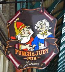 Punch & Judy Pub, Norfolk, UK.