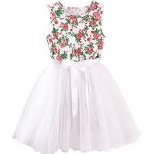 Shop Designer Kidz Baby Girls Ivory Red <b>Rose</b> Print Holy <b>Tutu</b> ...