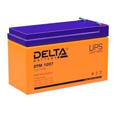 Аккумулятор <b>Delta DTM</b> 1207 (12V / 7Ah) со склада в Москве и СПб