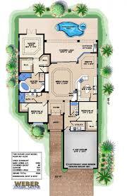 Florida House Plan   Narrow House Plan   Sugar Loaf House Plan    Sugar Loaf Model