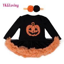 <b>Halloween</b> Baby Costume Girls Rompers Dresses Newborn ...