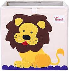 Suszian <b>Foldable Cartoon</b> Toy Storage Box, Toys Storage Box ...