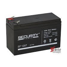 <b>Аккумулятор security force</b> sf 1207 12v 7ah, опт - спец цены