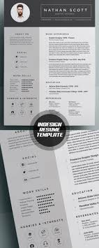 50 best minimal resume templates design graphic design junction 50 best minimal resume templates 45