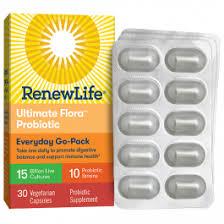 <b>Ultimate Flora Everyday Probiotic</b> Go Pack 15 Billion   Renew Life