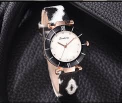Fashion Trend Women Quartz <b>Watches</b> Leopard Print Minimalist ...