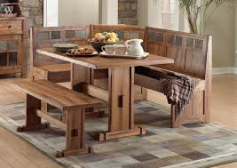 kitchen tables bench seating photo