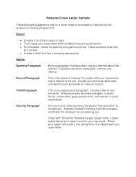 cover letter resume sample cover letter templates cover letter resume sample