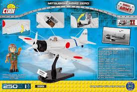 <b>Конструктор COBI</b> Самолет MITSUBISHI A6M2 ZERO COBI-5515