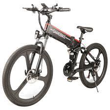 <b>Samebike LO26 Smart</b> Folding Electric <b>Moped Bike</b> (350W ...