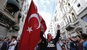 Image result for مردم ترکیه در اعتراض به حمایت اردوغان از داعش تظاهرات کردند