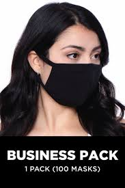 <b>Washable</b> & <b>Reusable</b> Unisex Face Mask - Business Pack (<b>100PCS</b>)