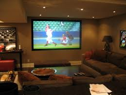 themed family rooms interior home theater:  home ideas  ideas of home theater projector living room