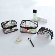 Yebeez <b>Travel Transparent Cosmetic Bag</b> | YesStyle