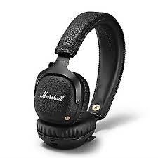 <b>Marshall Mid</b> 7030341 <b>Bluetooth</b> On-ear Headphones - <b>Black</b> for ...