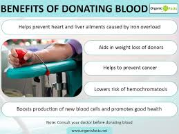 impressive benefits of blood donation organic facts donatingbloodinfo