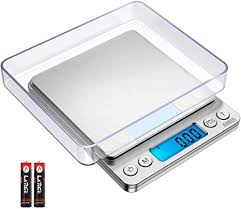 AMIR Upgraded <b>Kitchen Scale</b>, 500g/ 0.01g <b>Digital Scale</b>, <b>High</b> ...