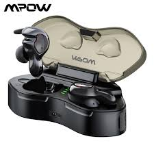 Mpow <b>T7 TWS</b> Bluetooth 5.0 <b>Earphones</b> Wireless <b>Earphone</b> IPX5 ...